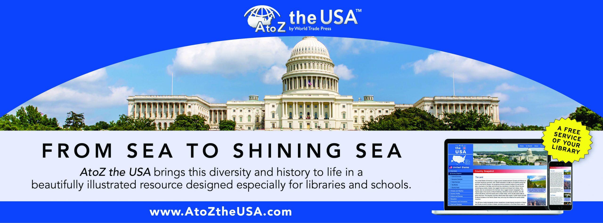 AtoZ the USA promotional image for database